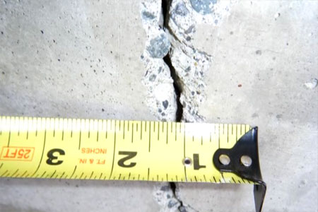 Foundation Cracks that could be foundation repair problem signs