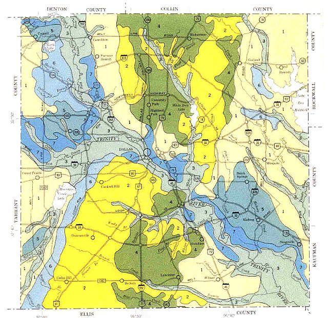 Soil Map Of Dallas